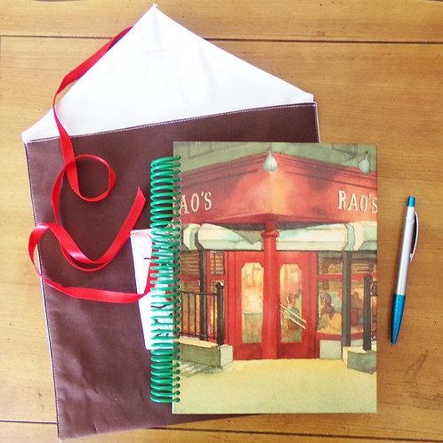 Rao's Cookbook Book Journal w/Sleeve