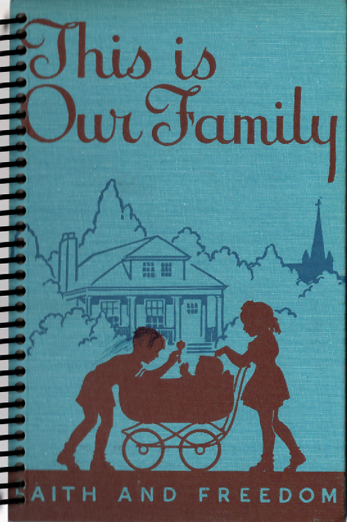 This is Our Family Pocket Book Journal