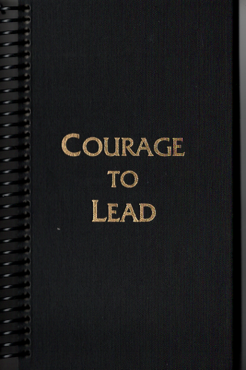 Courage to Lead Pocket Book Journal