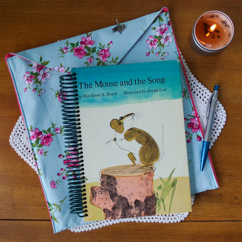 The Mouse and the Song Book Journal with Sleeve
