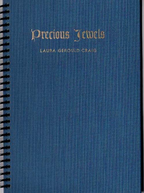 Precious Jewels Pocket Book Journal