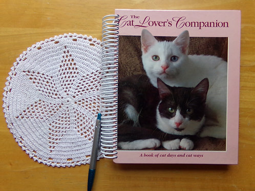 The Cat Lover's Companion Book Journal with Doily
