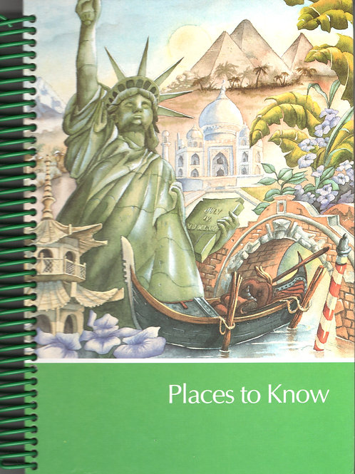 Places To Know Book Journal