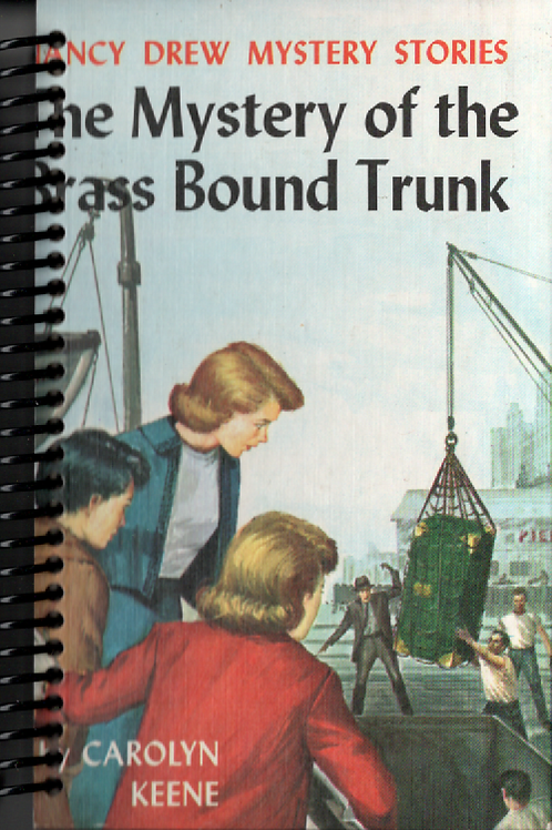 The Mystery of the Brass Bound Trunk Pocket Journal