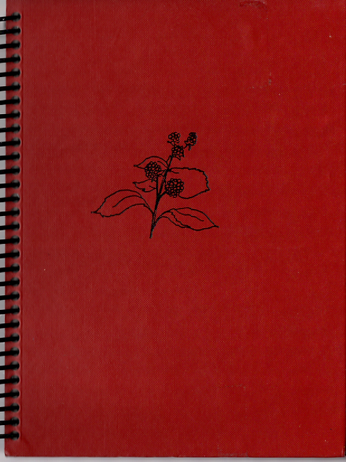 A Taste of Blackberries Pocket Book Journal