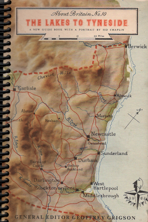 The Lakes to Tyneside Pocket Book Journal