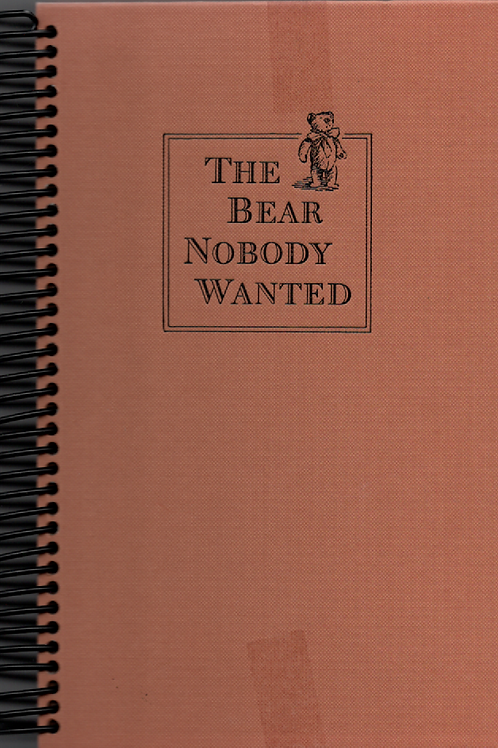 The Bear Nobody Wanted Book Journal