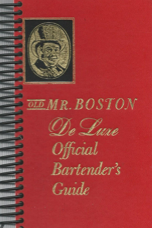 Old Mr. Boston Pocket Book Journal