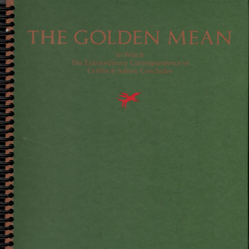 The Golden Mean Desk Journal