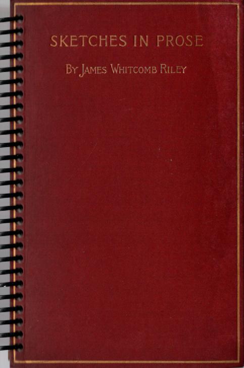 Sketches in Prose Pocket Book Journal
