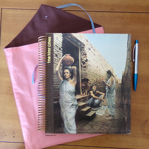 The First Cities Book Journal w/Sleeve