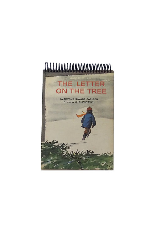 The Letter On The Tree - Steno Pad Journal