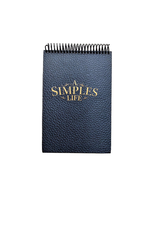 A Simples Life - Steno Pad Journal