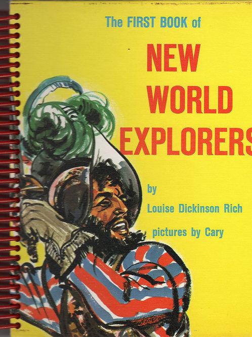 New World Explorers Book Journal