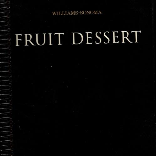 Fruit Dessert Book Journal