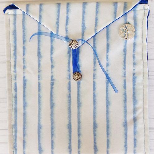 Blue Lines Book Journal Sleeve