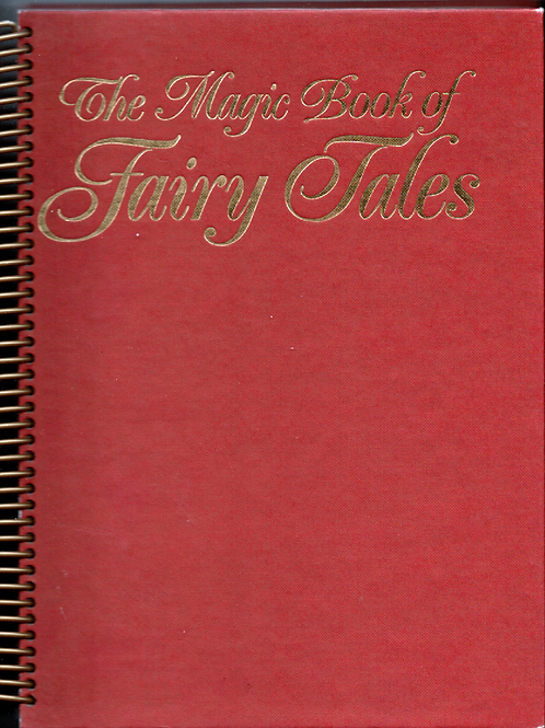 The Magic Book of Fairy Tales Book Journal