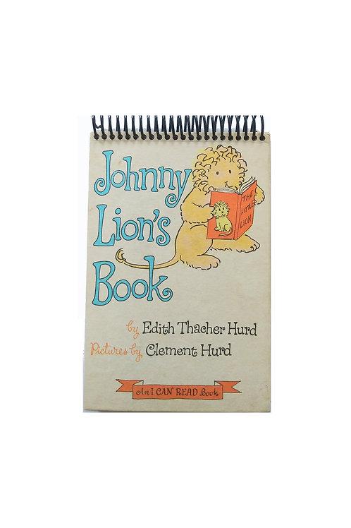 Johnny Lion's Book - Steno Pad Journal