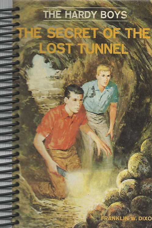 Hardy Boys The Secret of the Lost Tunnel Pocket Book Journal