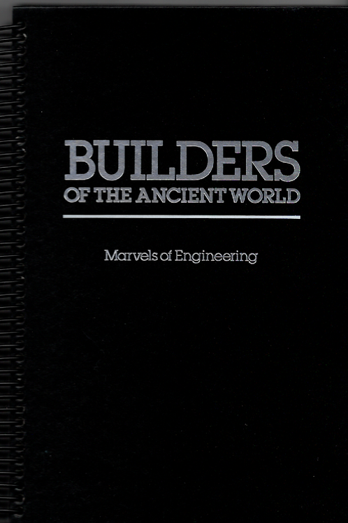 Builders of the Ancient World Book Journal