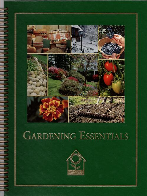 Gardening Essentials Book Journal