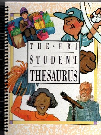 The HBJ Student Thesaurus Book Journal