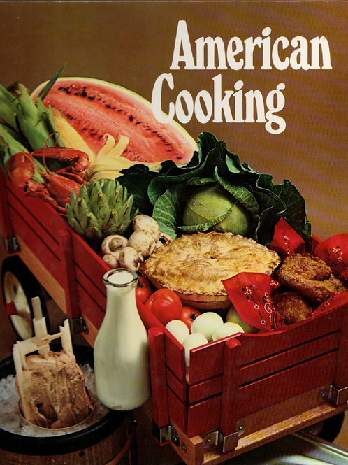American Cooking Book Journal