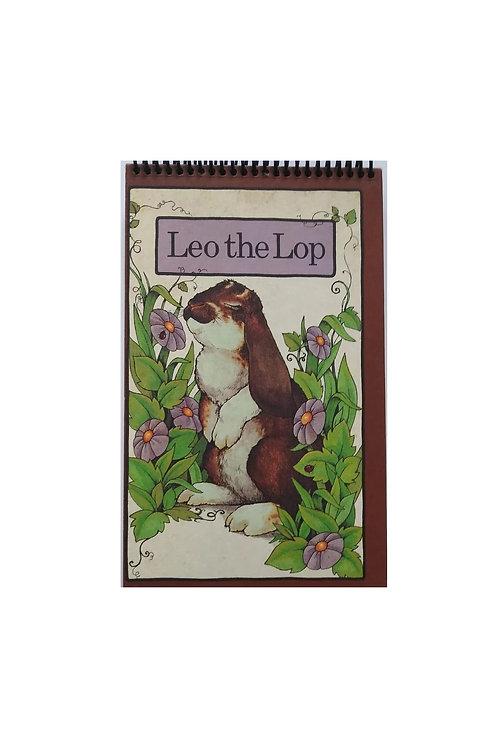 Leo the Lop Steno Pad Journal