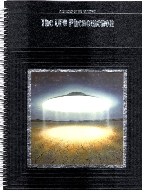 The UFO Phenomenon Book Journal