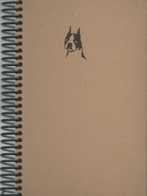 Care and Training of Dogs Pocket Book Journal