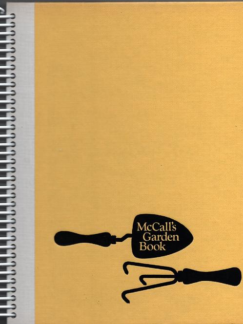 McCall's Garden Book Book Journal