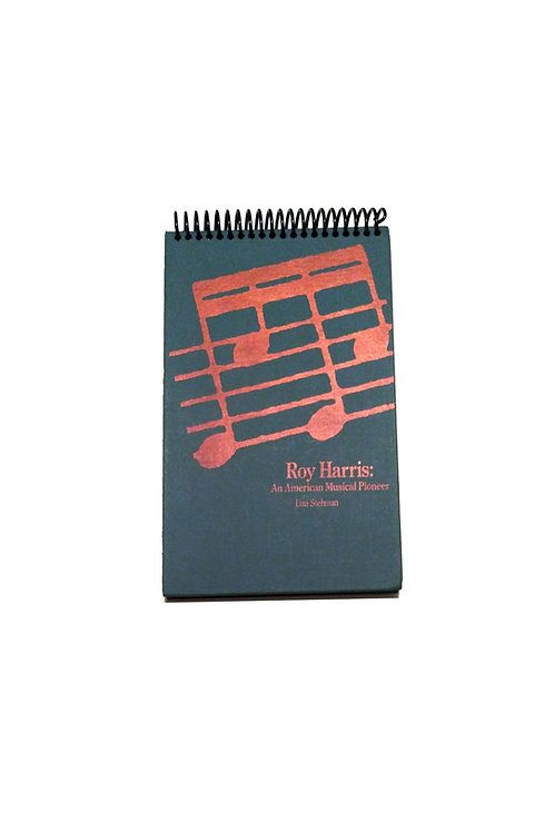 An American Musical Pioneer - Steno Pad Journal