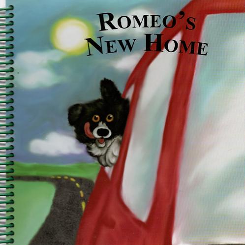 Romeo's New Home Book Journal