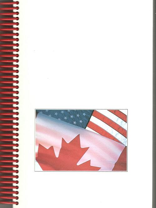 Lakes, Peaks, and Prairies Book Journal