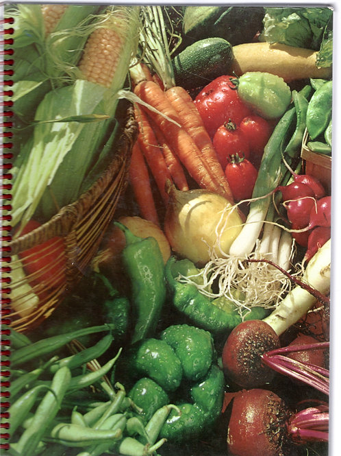 Vegetables and Fruit Book Journal