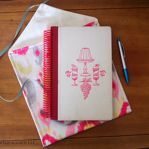 Mother's Day Ladies' Home Journal Dessert Cookbook Book Journal w/