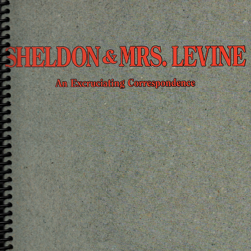 Sheldon & Mrs. Levine Desk Journal
