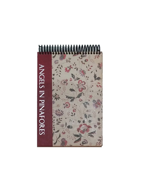 Angles In Pinafores - Steno Pad Journal
