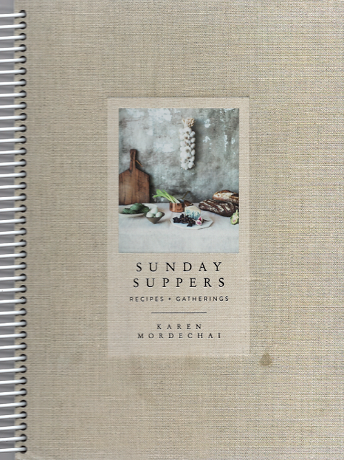 Sunday Suppers Book Journal