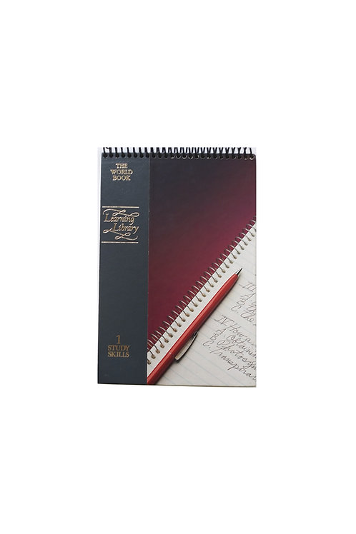 1 Study Skills - Steno Pad Journal