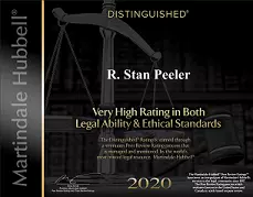 Peeler Law - High Rating Award 2020.webp