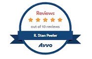 Avvo 5 star review badge.webp
