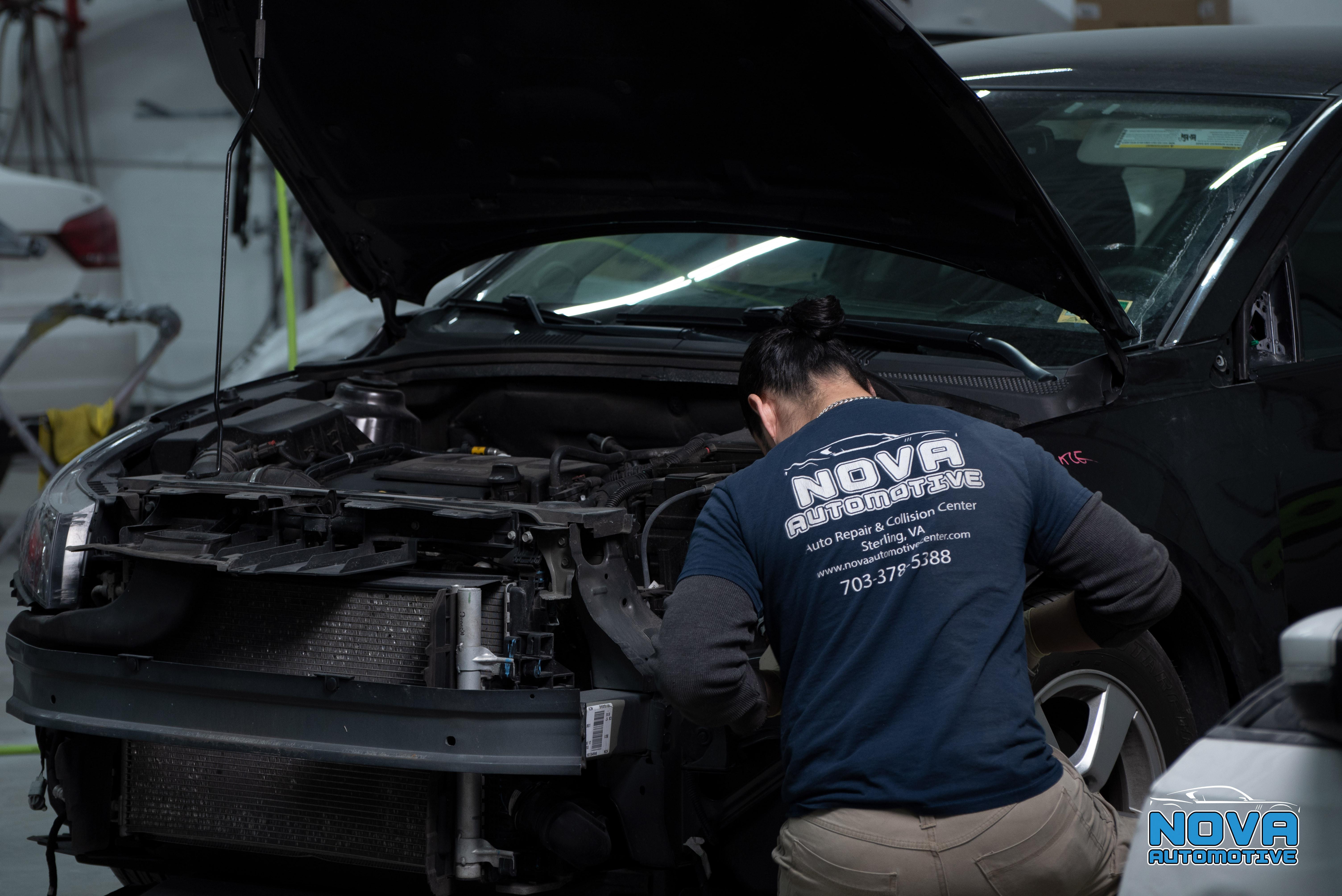 Collision Auto Repair Request