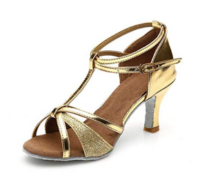 Heel Height: approximately 2.76 inches(7cm) These shoes can be worn for dance competition, swing, ballroom, rumba, cha cha, salsa, latin, samba, mambo, foxtrot, Viennese waltz, paso doble, jive,