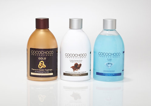 COCOCHOCO Keratin Treatment Full 750ml Special offer - free 400ml shampoo