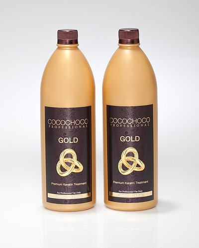 COCOCHOCO Pro 24 karat liquid Gold Keratin Hair Treatment 67.6 fl oz Best Seller