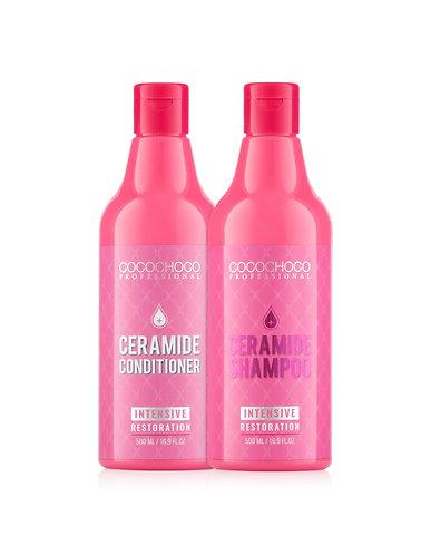 COCOCHOCO Restoration Shampoo 500ml + conditioner 500ml  for silky touch