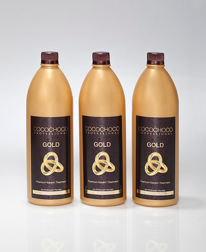 COCOCHOCO 24k Gold Keratin Treatment 101.4 fl oz deal Future Damages Protection