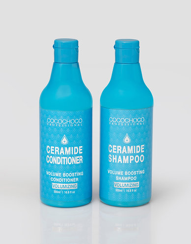 COCOCHOCO Volume Boosting Shampoo 500ml + conditioner 500ml Revitalizing formula