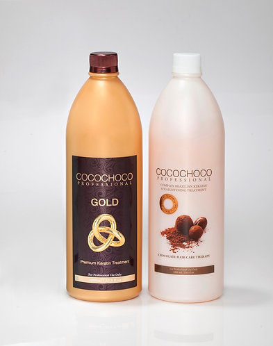 2 PACK DEAL - COCOCHOCO Original + Gold Treatment Advanced hair Smoothing